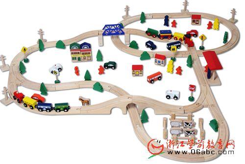 幼儿园建构区搭建步骤简笔
