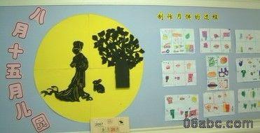 参观完月饼制作,幼儿将制作月饼的过程用自己的表现形式画了出来.