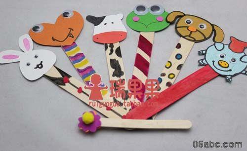 冰棒棍雪糕棒/幼儿手工diy材料/原木冰棍/木条木棒建筑模型早教用品