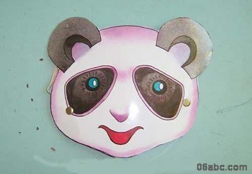 动物头饰图片:松鼠,熊,兔,熊猫