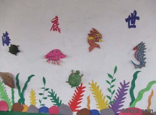 动物的家主题墙_幼儿园主题墙饰图片_幼儿园主题墙_银澜手机图片壁纸