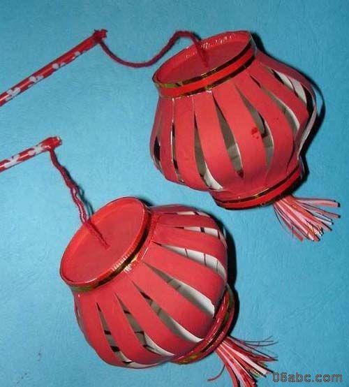 如何制作灯笼,手工制作灯笼 纸做的,简单儿童手工 ...