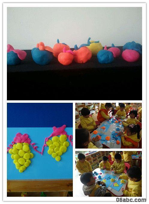 荣安琴湾幼儿园:小小泥工创意,大大童年色彩