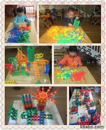 幼儿建筑物彩色简笔画
