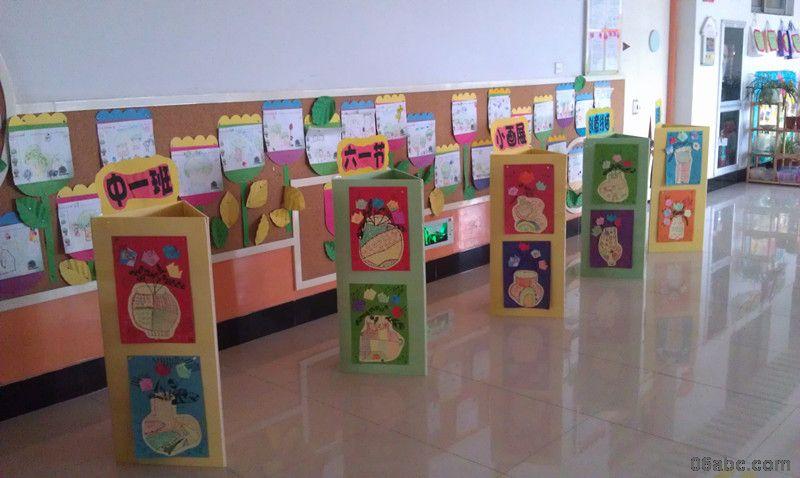 """行知幼儿园——迎""""六一""""绘画展"""