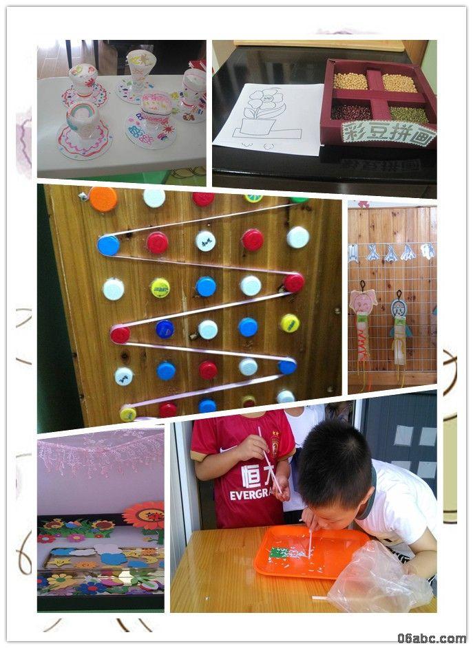 荣安琴湾幼儿园聚焦区域活动材料的有效性