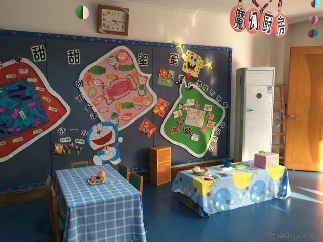 荣怀新世纪幼儿园区域环境创设评比