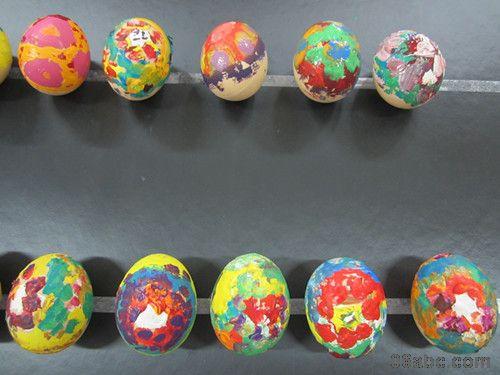 鸭蛋手绘图幼儿园