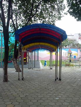 幼儿园室外布置1