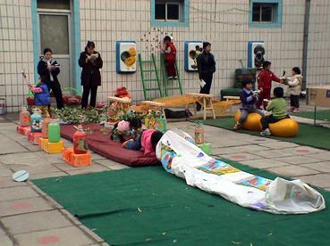幼儿园环境布置:室外环境11