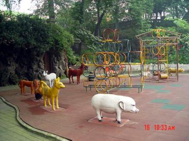 幼儿园室外环境创设3