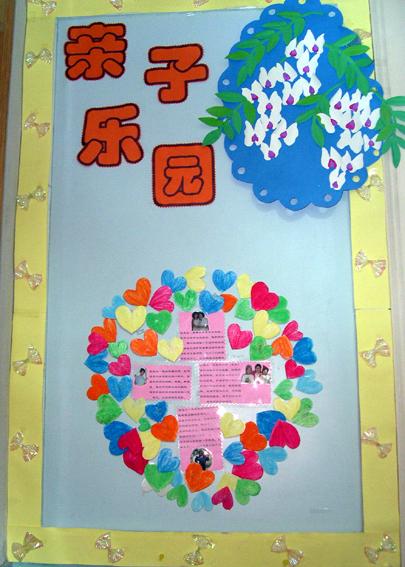 幼儿园家园栏布置:北京市一幼亲子乐园