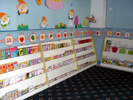 幼儿园环境布置 图书角2