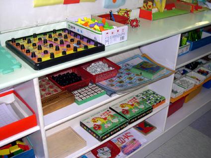 幼儿园区角布置: 活动区材料 2(美工区材料)图片