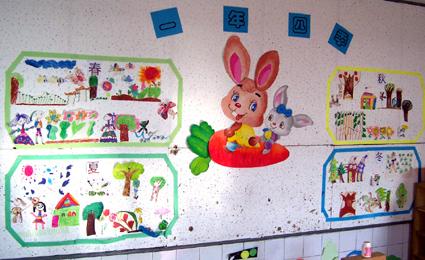 幼儿园主题墙饰图片:一年四季