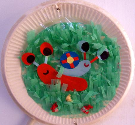 幼儿园手工制作:纸工装饰画11