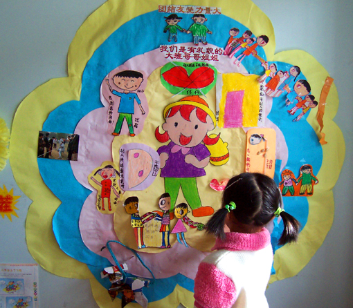 幼儿园主题墙饰:我的好品德