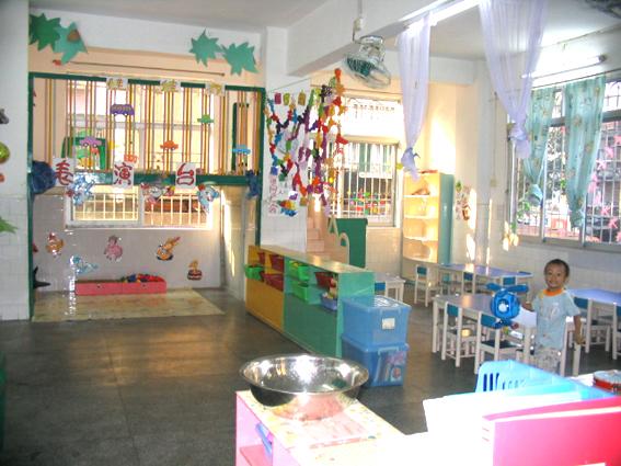 幼儿园环境布置 表演区6 区角环境布置 图片
