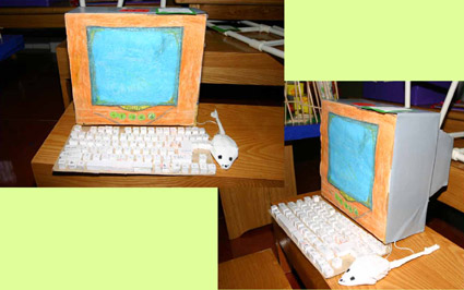 娃娃家废旧纸箱手工制作图片