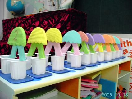 幼儿教师自制玩教具:降落伞分解盒