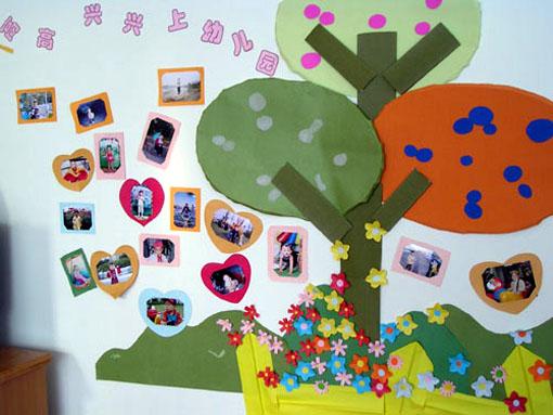 幼儿园主题墙布置:上幼儿园