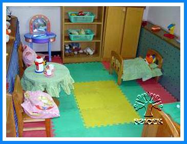 幼儿园环境布置:娃娃家11