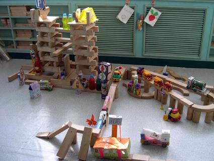幼儿园区角布置:建构区6图片