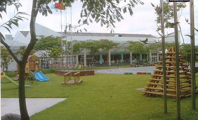 幼儿园环境布置:户外环境23