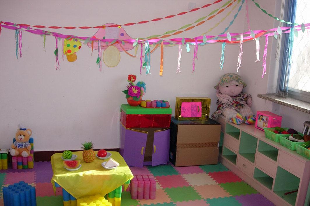 幼儿园活动区布置:娃娃家13
