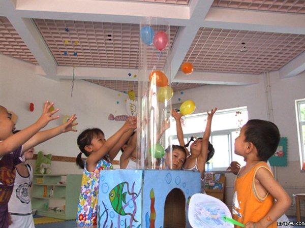 幼儿园自制玩教具:吹泡泡