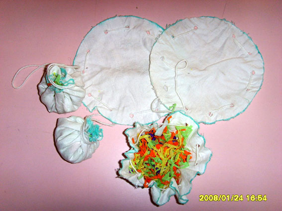 幼儿园玩教具制作:巧做包子