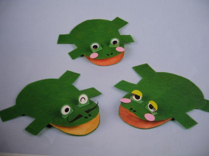 幼儿手工制作:青蛙