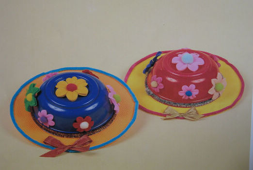 幼儿园手工制作 小帽子