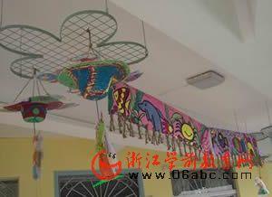 幼儿园吊饰:民族风情简约版