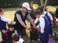 五幼春游不乏教育