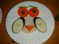 幼儿蔬菜拼盘