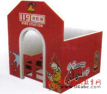 消防局特价/幼儿园区域游戏角色模拟