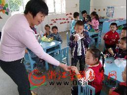 贵门乡中心幼儿园:有趣的分享活动