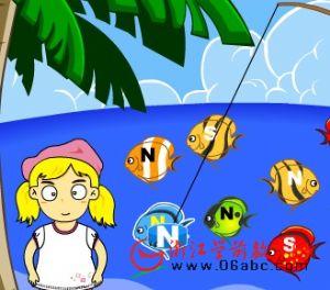 益智小游戏FLASH:钓鱼