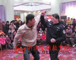"""杭州景成实验幼儿园""""爸爸宝宝训练营""""开营"""