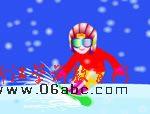 flash宝宝儿歌:雪姑娘