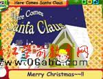 英语儿歌:Here Comes Santa Claus