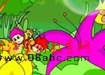 flash宝宝儿歌:蜜蜂做工