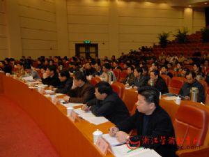 全省学前教育工作会议在杭召开