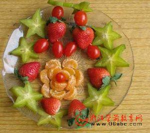 """杭州清波幼:""""甜蜜的爱"""" 水果拼盘大比武"""