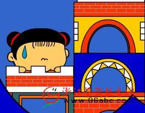 动画故事欣赏:盖房子