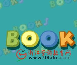 快乐学英语FLASH:books(书)