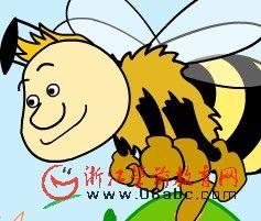 快乐学英语FLASH:buzzy bee,s day(蜜蜂忙碌的一天)