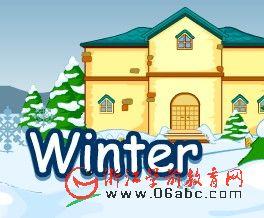 快乐学英语FLASH:winter(冬天)