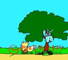 儿童故事FLASH欣赏:狐狸和蝉